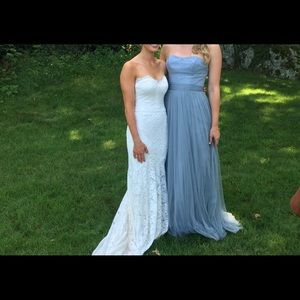 Watters Bridesmaids dress in French Blue